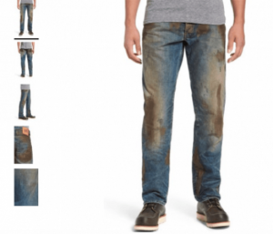 dirty 425USD jeans